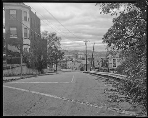 "Union Terminal, Cincinnati, OH, photograph (gicleé print from 8""x10"" film negative) (2014), $500"