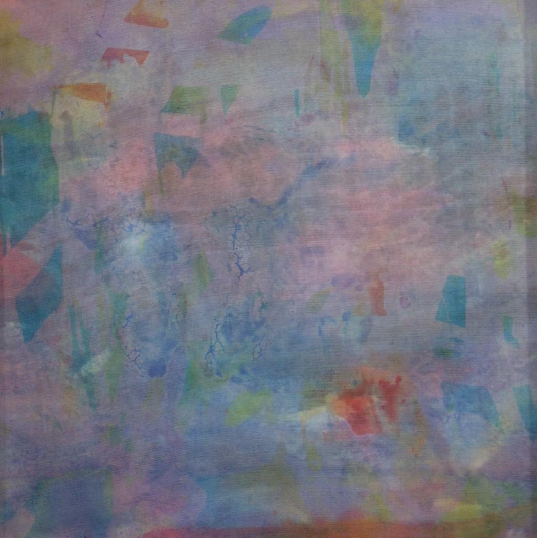 Silk Strata 2, hand-dyed silk (2014), $100