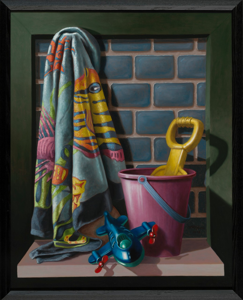 Beach Toys, oil on canvas (2008), $3600