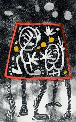 Artwork from the Memento Mori exhibition