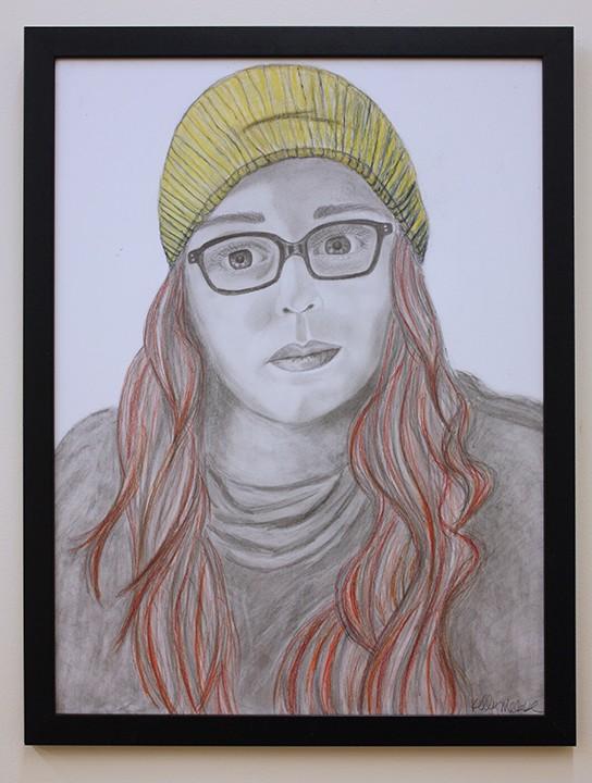Kelly McCabe - Self-Portraits