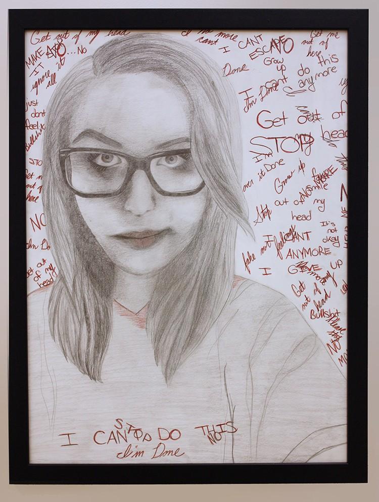 Natalie Wisler - Self-Portraits