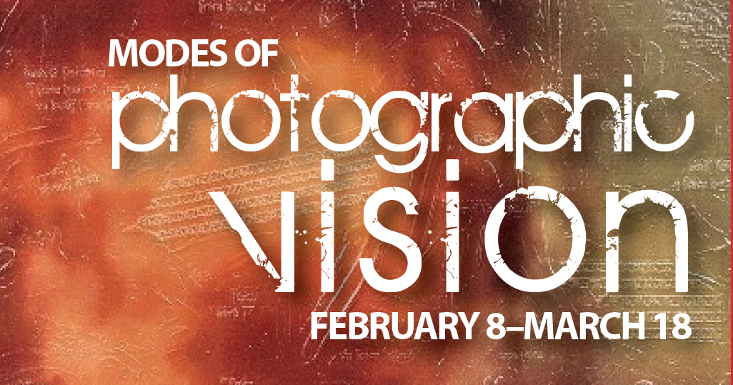"""Modes of Photographic Vision"" header display"