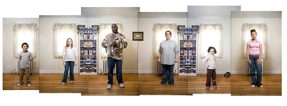 "3. The Scotts, photograph (montage of archival inkjet prints), 20"" x 30"" (2007)"