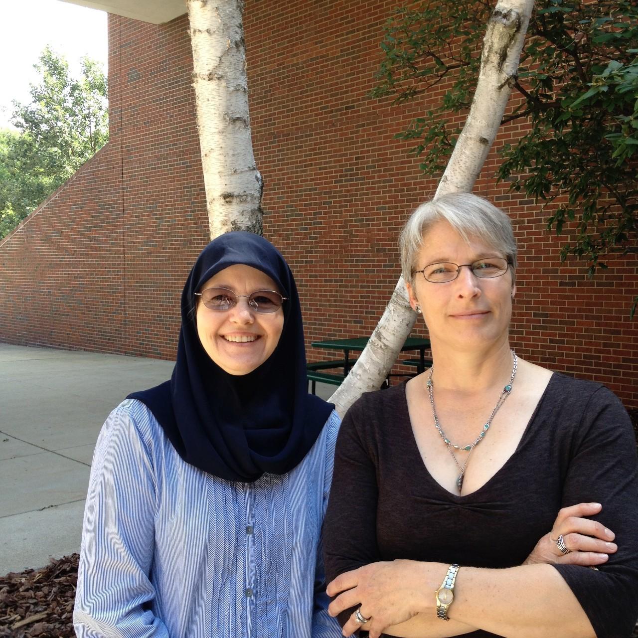 Dr. Ruth Benander & Dr. Brenda Refaei