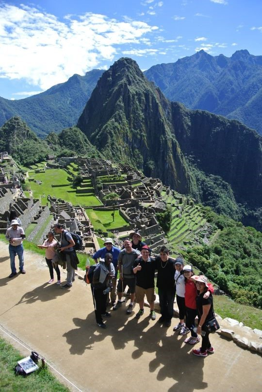 UC Blue Ash students exploring Machu Picchu