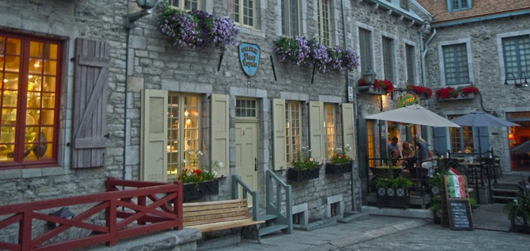 Quebec City historical building