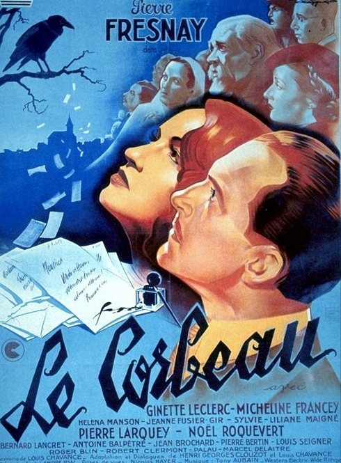 Le Corbeau (The Raven) movie poster